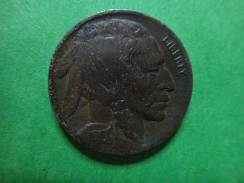 1918-D Buffalo Nickel Fine-12