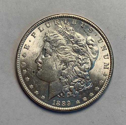 1889 Morgan Dollar AU58 [MDL 20]