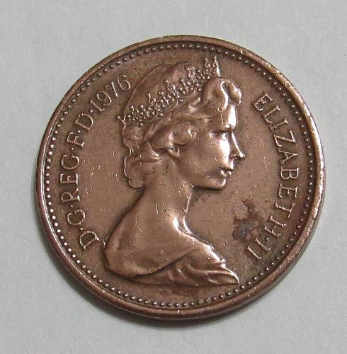 1976 United Kingdom 1 New Penny