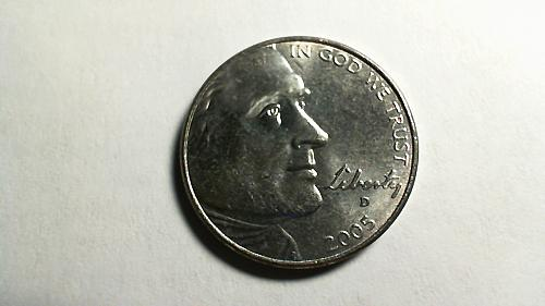 2005-D Jefferson Nickel