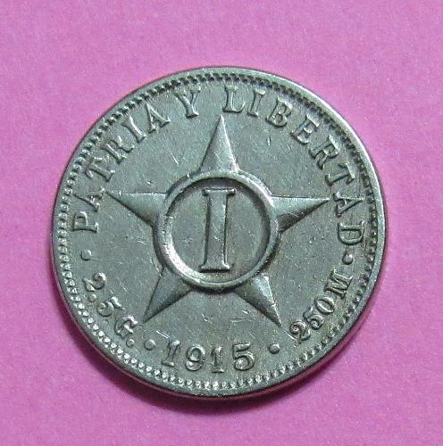 1915 Cuba 1 Centavo
