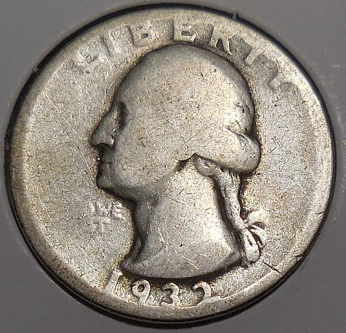 Washington Quarter 1932-P