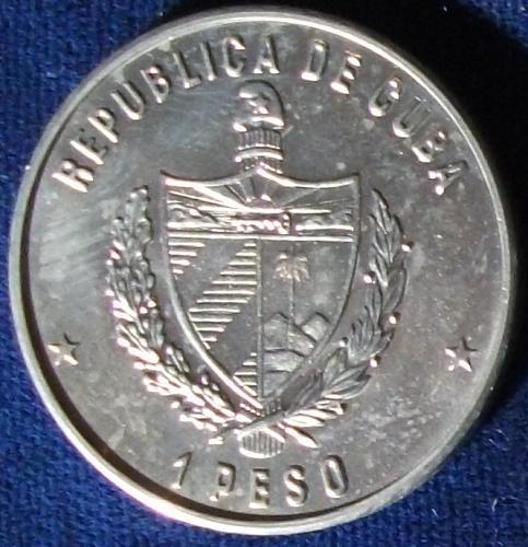 1981 Cuba Peso BU