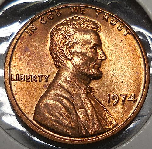 Lincoln Cent 1974-P
