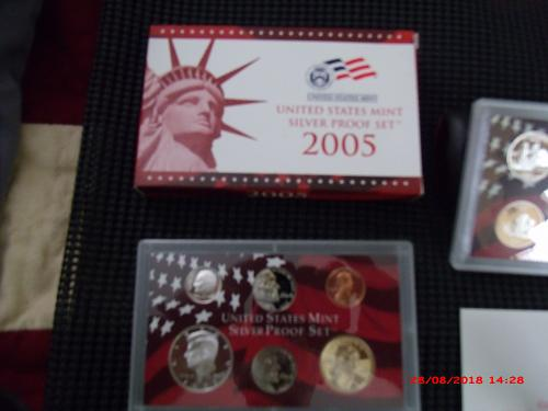 2005 Silver Proof Set