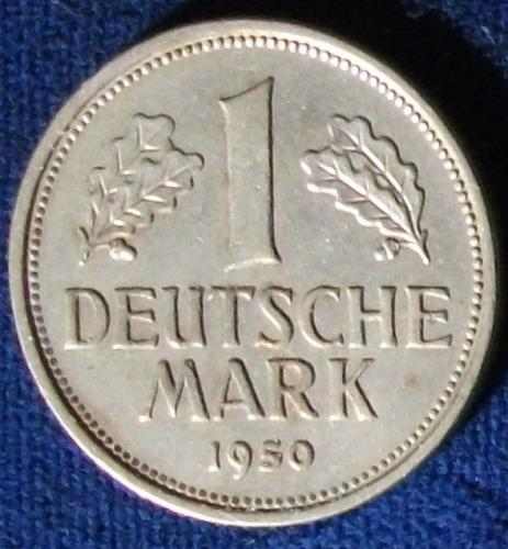 1950J Germany/Federal Republic Mark XF