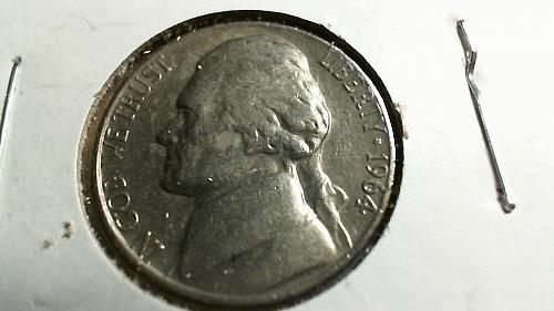 1964-D Jefferson Nickel