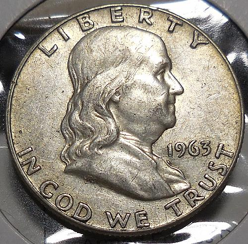 Franklin Half Dollar 1963-P