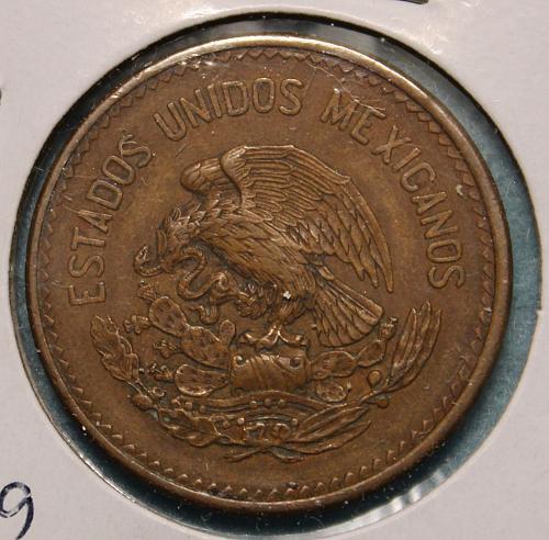 Mexico 1943 20 centavos
