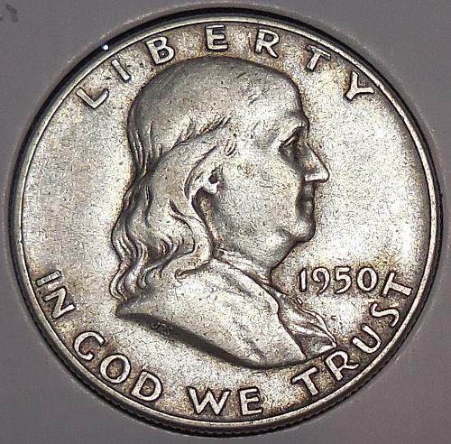 Franklin Half Dollar 1950-D