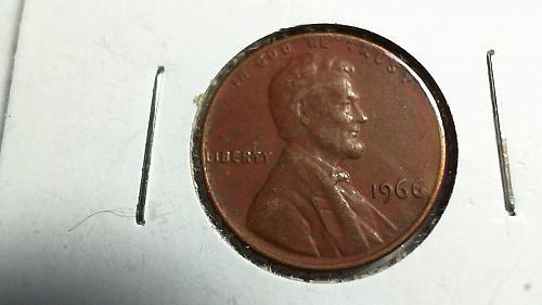 1966-P Lincoln Memorial Cent