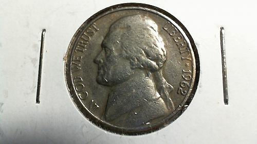 1962-P Jefferson Nickel