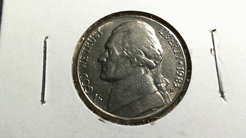 1983-D Jefferson Nickel
