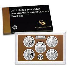 2012 US Mint America The Beautiful Quarters proof Set