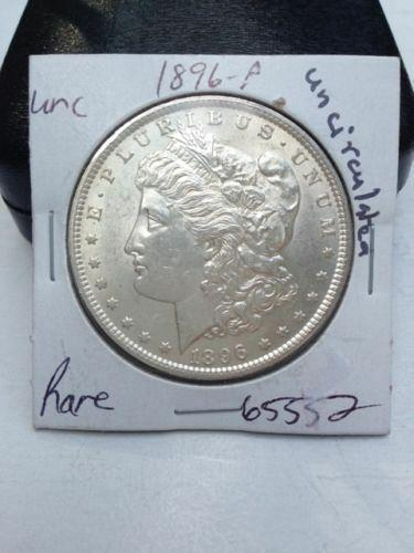 1896 P Morgan Silver Dollar - Uncirculated