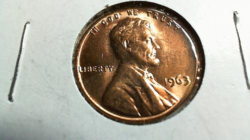 1963-P Lincoln Memorial Cent