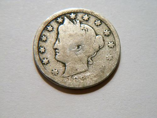 1884 Liberty V Nickel
