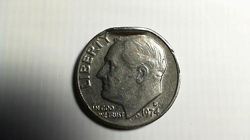 1974-D Roosevelt Dime