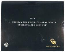 2010 America The Beautiful Quarters Uncirculated P&D Set