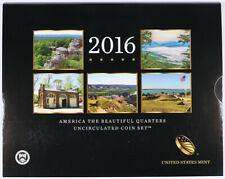 2016  America The Beautiful Quarters Uncirculated P&D Set