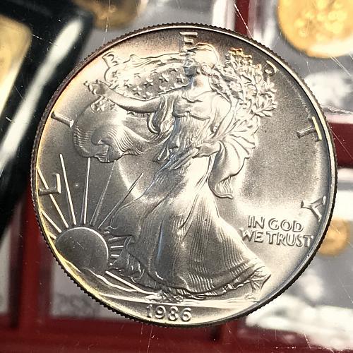 1986 American Eagle - Silver