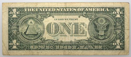 2013 $1 Federal Reserve Star Note#10 Circulated