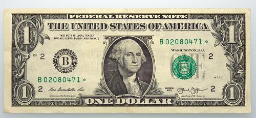 2013 $1 Federal Reserve Star Note#11 Circulated