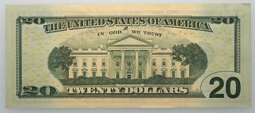 2009  $20 Federal Reserve Star Note#18 Uncirculated