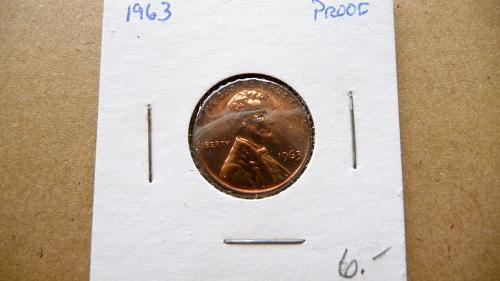 1963 Lincoln Cent