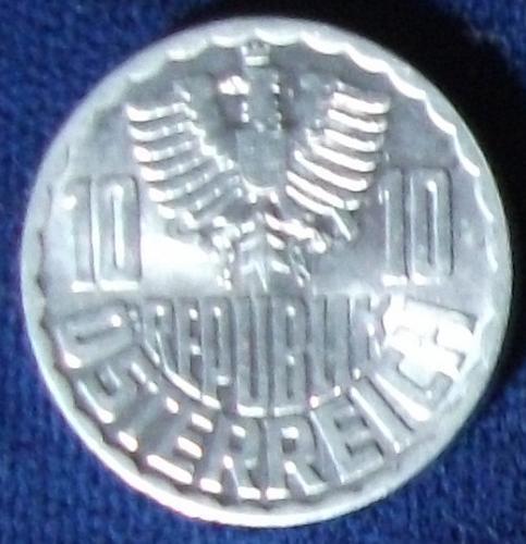 1964 Austria 10 Groschen UNC