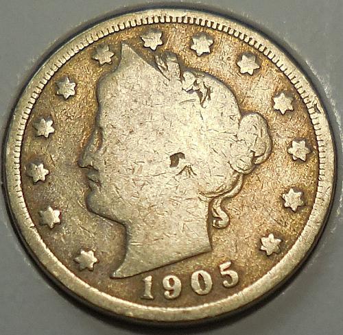 1905-P Liberty Head Nickel