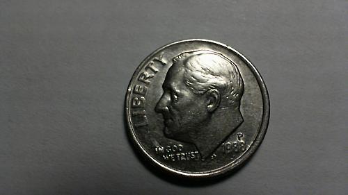 1988-P Roosevelt Dime