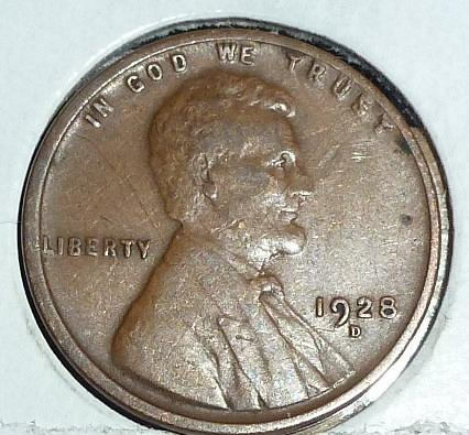 1928-D Very Fine Lincoln Wheat Cent (A306 )