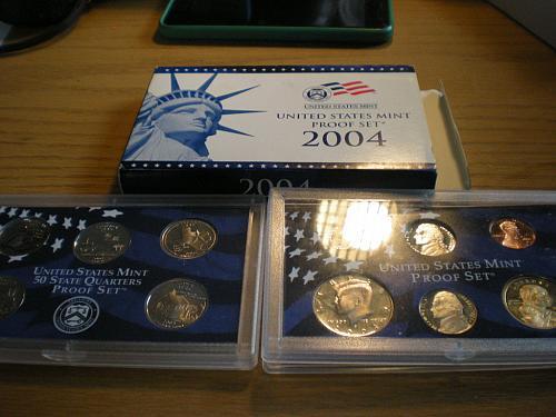 2004-S 11 Piece Proof Set