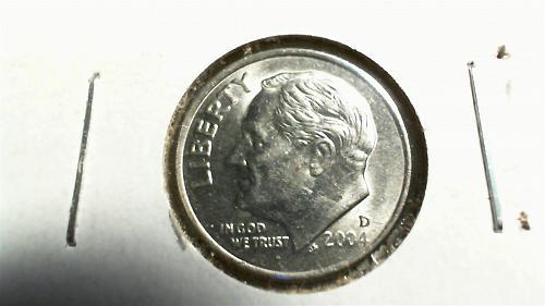 2004-D Roosevelt Dime