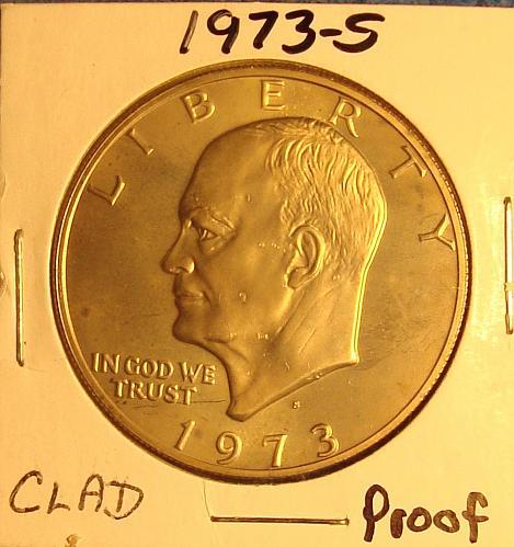 1973 S Eisenhower Dollar Proof