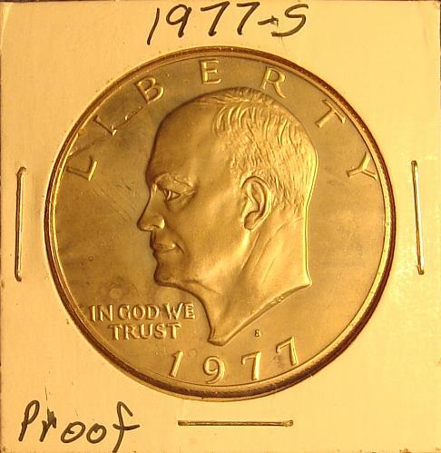 1977 S Eisenhower Dollar Proof