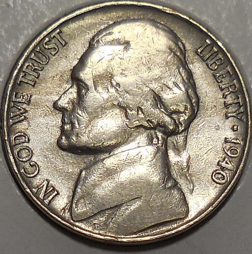 1940-S Jefferson Nickel