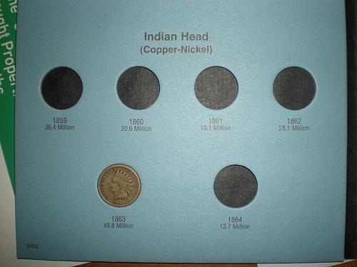 Indian Penny Collection