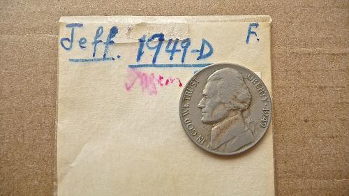 1949-D Jefferson Nickel