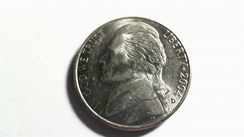2004-D Jefferson Nickel:Peace Medal