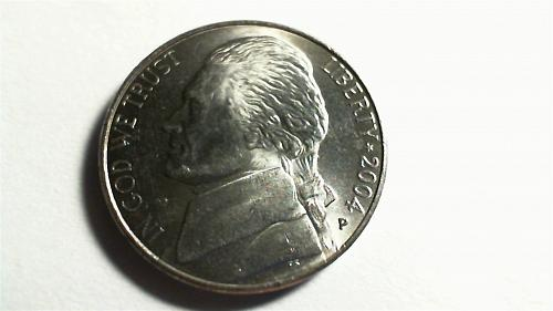 2004-P Jefferson Nickel:Peace Medal