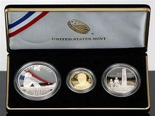 2017 Boys Town Anniversary 3 Coin Commemorative Set