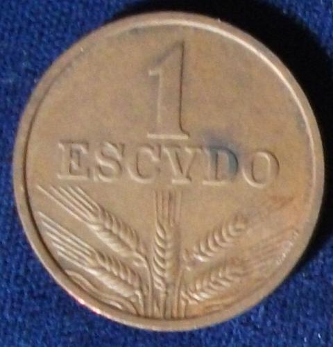 1971 Portugal Escudo XF