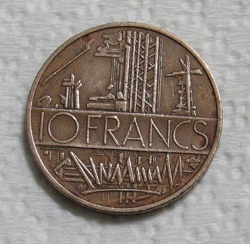 1976 France 10 Francs