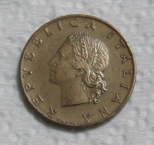 1957 Italy 20 Lira
