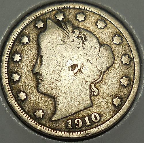 1910-P Liberty Head Nickel