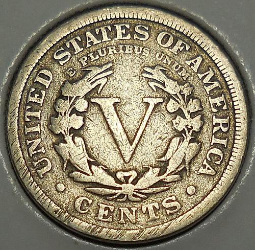 1910-P Liberty Head Nickel