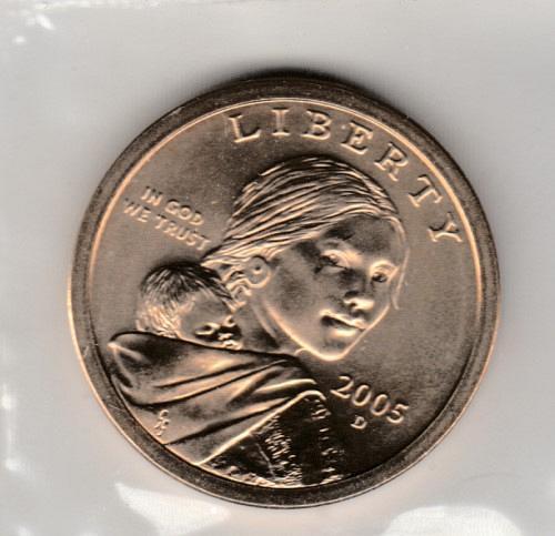 2005 D Native American & Sacagawea Dollars - #2