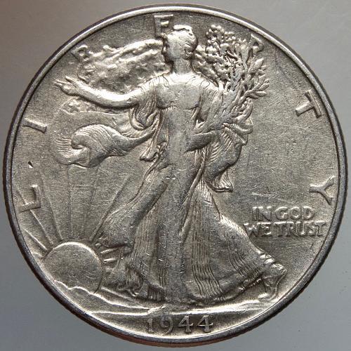 1944 P Walking Liberty Half Dollar #11